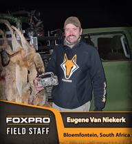 Field Staff Member Eugene Van Niekerk