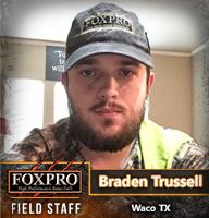 Field Staff Member Braden Trussell