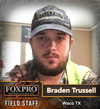 Field Staff Member: Braden Trussell