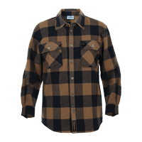 Brown Buffalo Plaid Shirt