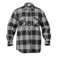 Grey Buffalo Plaid Shirt