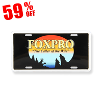 FOXPRO License Plate