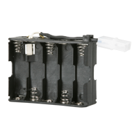 10 AA Fused Battery Holder