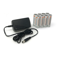 8 AA NiMH Battery Kit