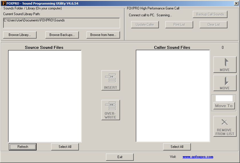 FOXPRO Introduction to the Programming Utility (Windows)